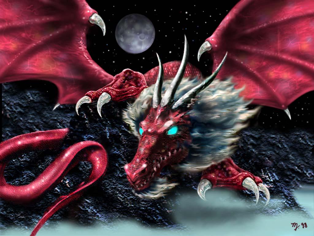 dragon au moyen age