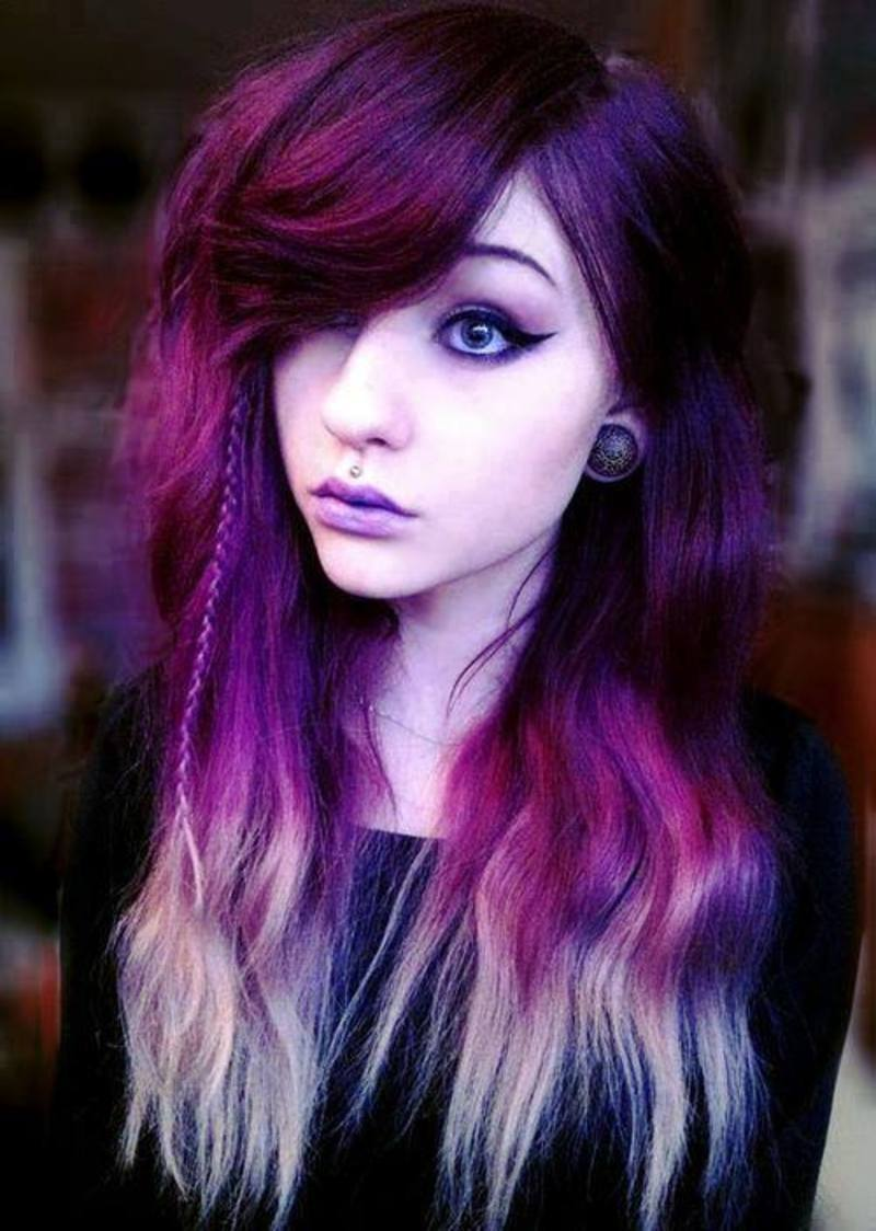 Girls With Light Purple Hair Tumblr IMAGES VISAGES ...