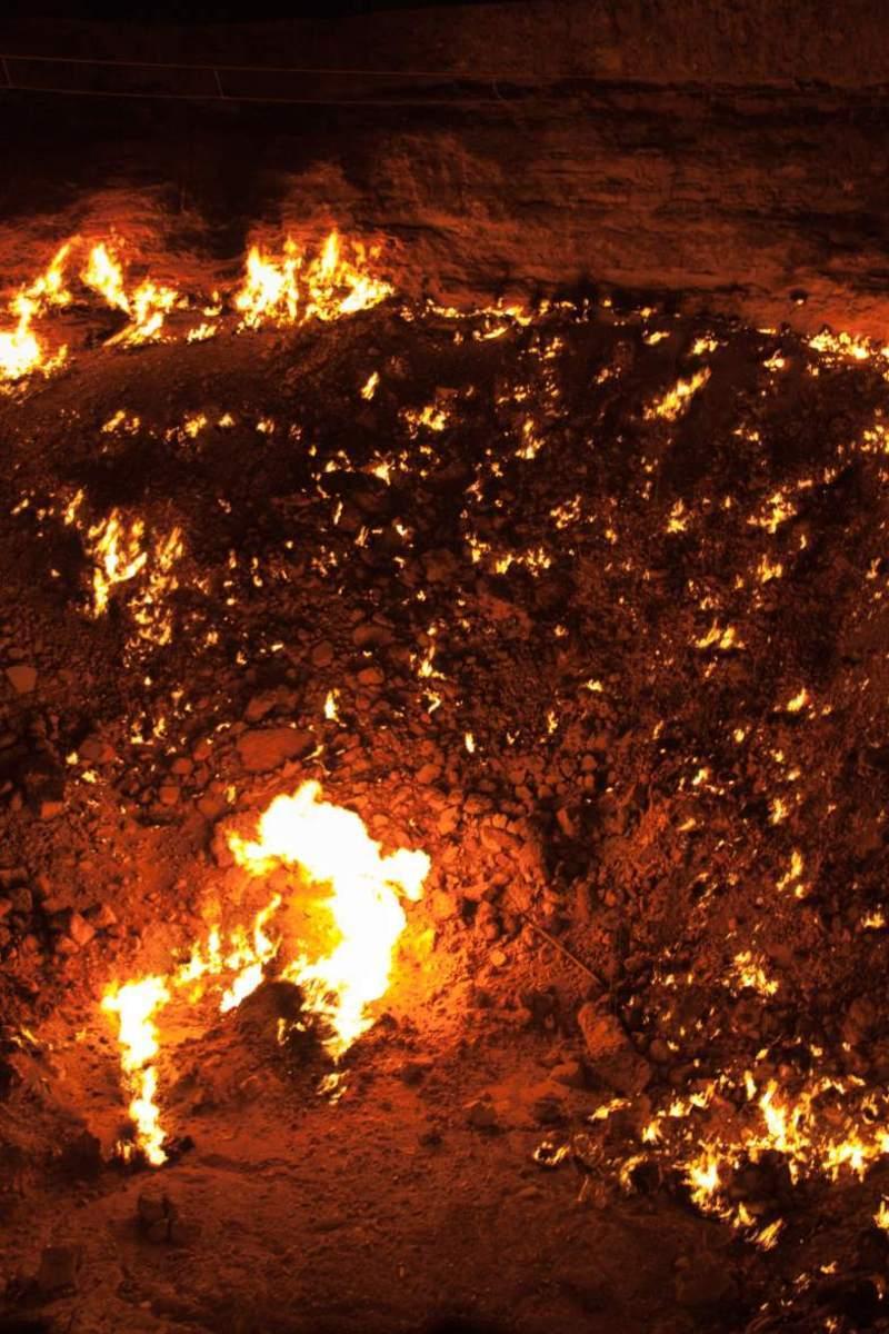 Le yeun ellez aux portes de l enfer centerblog - Turkmenistan porte de l enfer ...