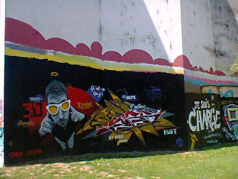 ARTISTES PEINTRE DES MURS GRAFFITIS SUR METZ 274