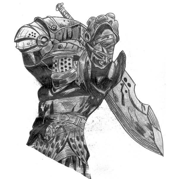 Rep res historiques armure centerblog - Dessin armure ...