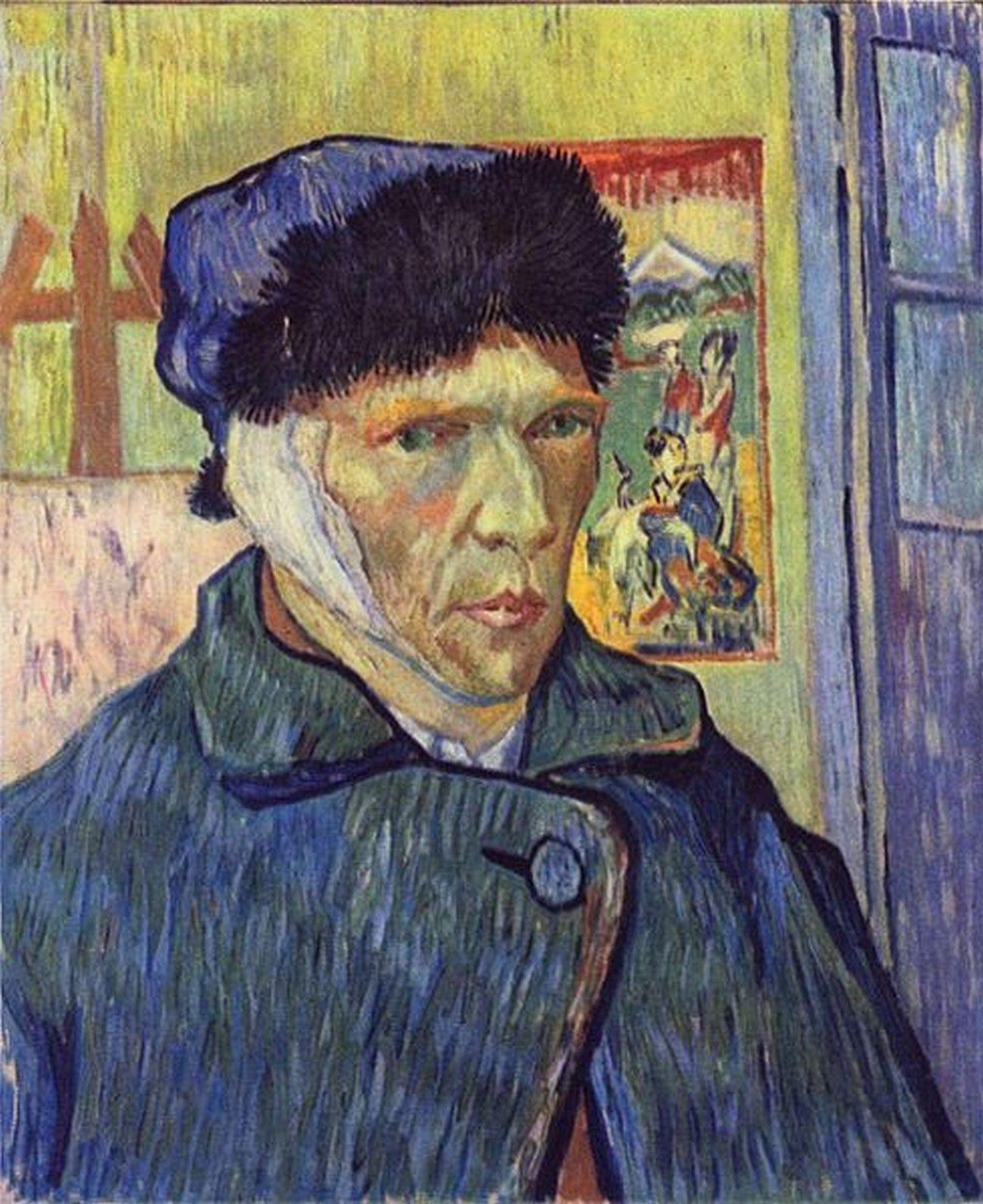 Artiste peintre celebre van gogh page 7 - Vincent van gogh autoportrait a l oreille coupee ...