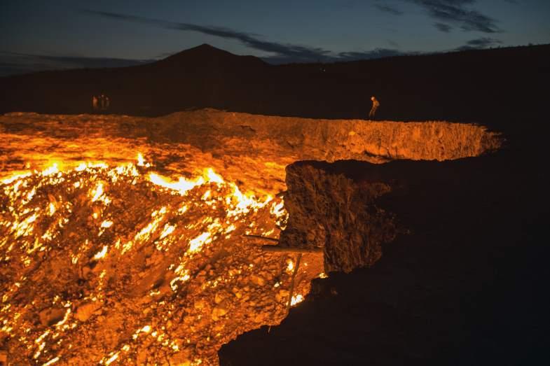 Porte de enfer au turkmenistan - Turkmenistan porte de l enfer ...