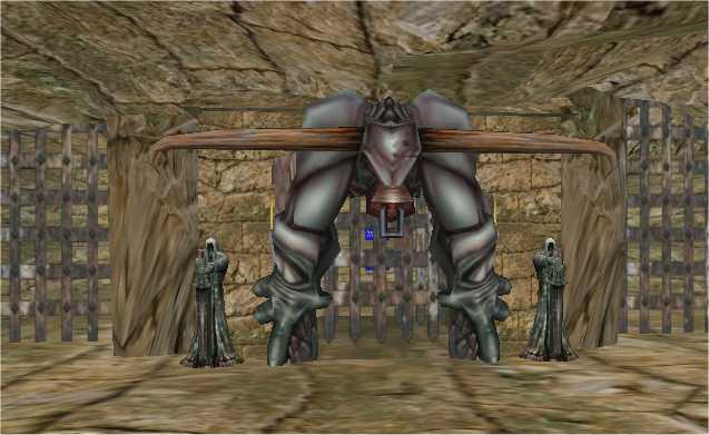 gardien du labyrinthe voici l'entrée